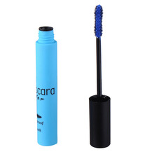 Waterproof Fiber Mascara Colorful Curling Volume Mascara Beauty Makeup For Cosplay Masquerade Cosmetic 5 Different Colors(China)