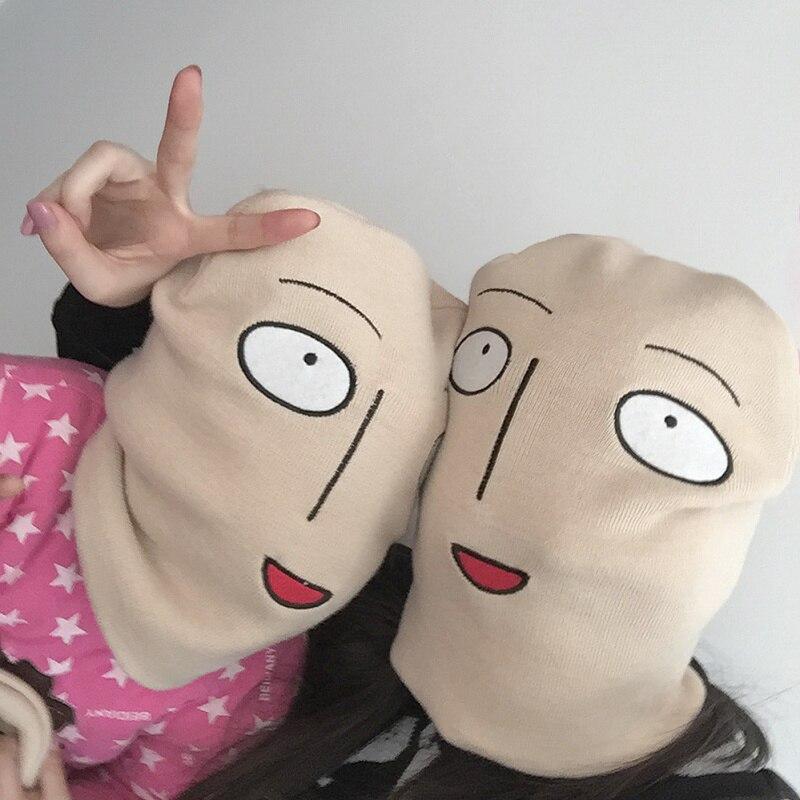 Hot Sale Skullie Japanese Anime Cosplay One Punch Man Hat Winter Wool Cap Cute Harjuku Cartoon knitted Hat Men Women HalloweenÎäåæäà è àêñåññóàðû<br><br><br>Aliexpress
