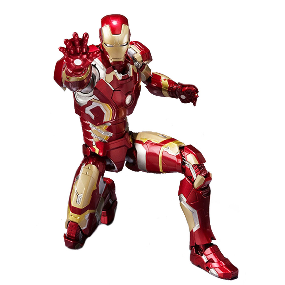 Iron Man Mark 43 Figure Marvel Hero the Avengers Age of Ultron SHF S.H.FIGUARTS Ironman Model Toy DC008052<br><br>Aliexpress