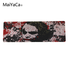 Rug anti-slip mouse diy design Spiderman gamer pc large gaming laptop mouse pad black paint rubber mouse(China)