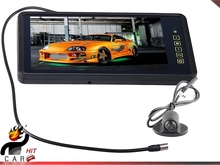 9 Inch Rearview Mirror TFT LCD Monitor wth Mini Rear View Parking Camera for Car