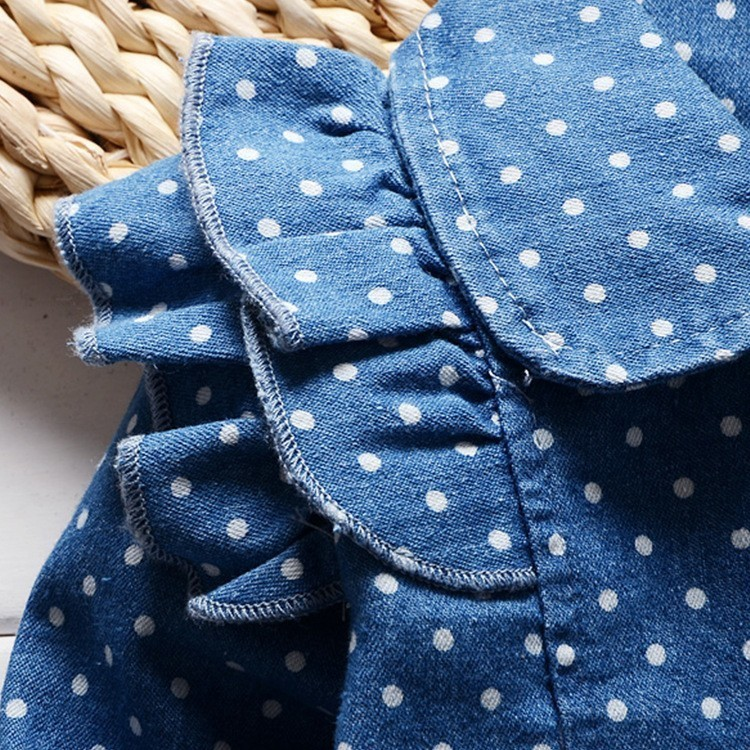 2016-spring-new-Korean-children-girls-lovely-polka-dots-denim-jacket-female-baby-cotton-jean-lapel (3)