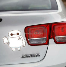 Car Sticker Decals Car Whole Body Window Tail Fuel Tank Vinyl Tap for Classic Film Big Hero 6 Baymax
