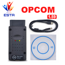 Newest V1.65 OPCOM V1.65 with PIC18F458 chip OP-COM obd2 opel scanner diagnostic op com Free Shipping