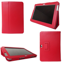 For Samsung Galaxy Note 10.1 N8000 N8010 Leather Case,Heat Setting Smart Case Skin Cover Tablet+stylus free