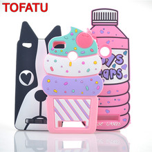 For XiaoMi RedMi 4A Case Ice Cream Boys Tears Bottles Dog Luna Cat Cartoon Silicone Phone Cases Covers(China)