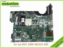 NOKOTION DA0QT8MB6G0 laptop motherboard For HP Pavilion DV5 series 482325-001 DDR2 Mainboard full tested(China)