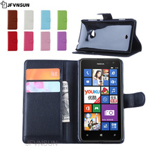 JFVNSUN Case for Microsoft Nokia Lumia 625 NEW Card Slot Wallet Magnetic Leather Flip Cover for Nokia Lumia 625 Stand Phone Bag
