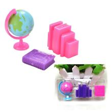 Details about 3X/set Globe Book Creative Doll Blister Toy for Dolls Color Random TO(China)