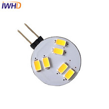IWHD 10pcs/lot G4 LED 12V LED Bulb 1.5W 150-200LM LED Light DC SMD5730 LED Bi-pin Light 3000K/6000K LED Light Plum Flower