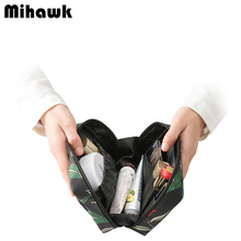 Mini Vanity Cosmetic Bag Functional Makeup Pouch Case Beautician Necessarie Toiletry Kit Travel Organizer Accessories Supplies(China)