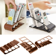 Urijk TV DVD VCR Step Remote Control Mobile Phone Holder Stand Storage Rack Organizer