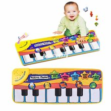 Children Piano Keyboard Music Learn Singing Gym Carpet Touch Play Mats Blanket Kids Educational Toy Gift For Kids Baby Toy