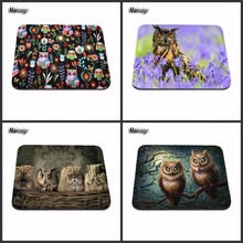 Mairuige Owl Animal Desk Mouse Pads Gaming Mouse Pad Rubber Gamer Soft Comfort Mouse Mat Three Size Choose As A Gift(China)