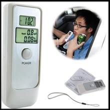 by DHL or EMS 100 pieces Portable alcohol tester breathing type testing