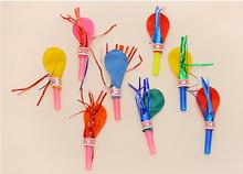 6pcs Will be called balloon whistle creative birthday festive party decorations party baby baby small gift toys