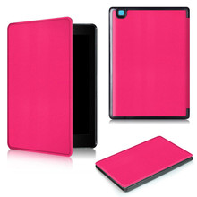 7.8inch Folio Slim PU Protective Case For KOBO AURA ONE Luxury Cover EBook 50PCS/Lot By DHL