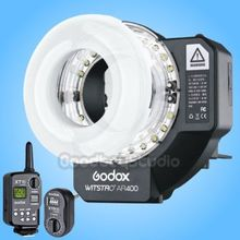 Godox AR 400 Li-ion Battery Ring Flash LED Video Light + XT-16 Wireless Flash Trigger