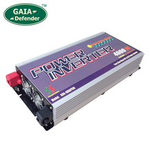 3000W 4000W Pure Sine Wave Power Inverter with Charger Peak 12000W DC 24V AC 120V 230V 240V select LCD display 10 years warranty(China)