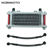 Off Road Motorcycle Oil Cooler Scooter 50cc Radiator With Short Tube Fit for 50cc-160cc Dirt Bike Off Road Motorcycle CNC-181-3(China)