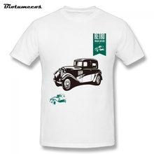 Cool Mens T shirt Printing Retro Vintage Car Club Short Sleeve O-neck Comfortable Clothes MTCC107(China)