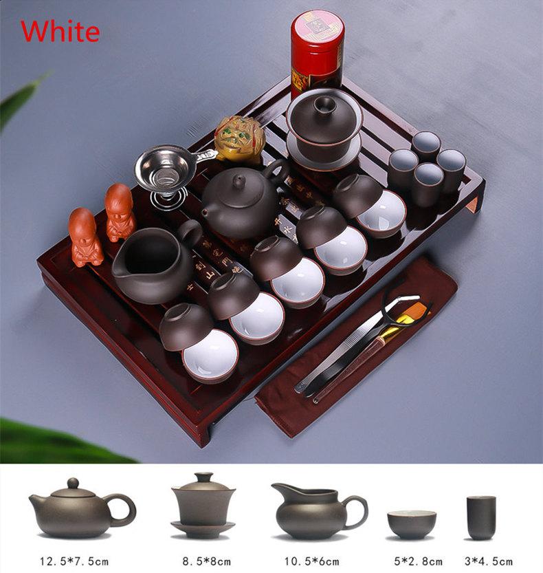 Service complet à thé avec plateau et accessoir | oko oko