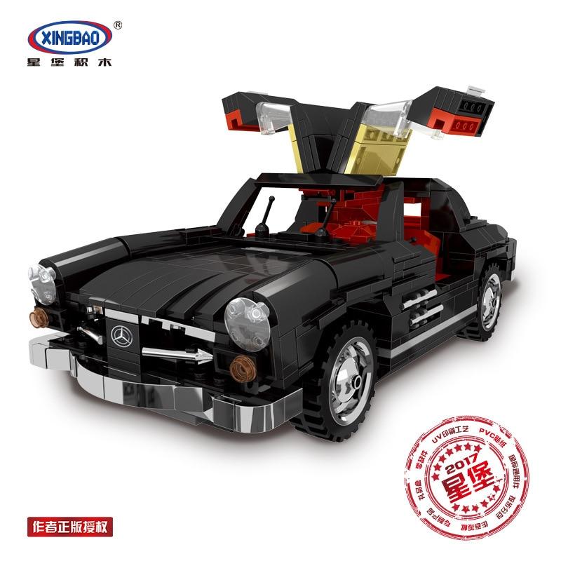 XingBao 03010 Block 825Pcs Creative MOC Technic Series The Photpong Car Set Education Building Blocks Bricks Toys Model Gifts<br>