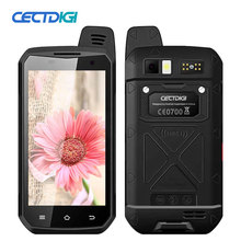 CECTDIGI B6000 NFC Mobile phone Zello PTT walkie talkie 5.0 inch IP68 Waterproof MT6755 Octa core 4GB RAM 64GB ROM 4G Smartphone(China)
