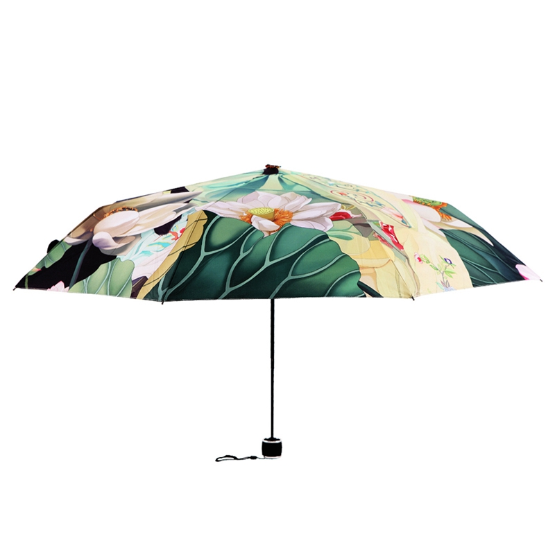 Best selling outdoor sun umbrella women anti uv parasol folding best selling outdoor sun umbrella women anti uv parasol folding umbrella digital printed korean style rain umbrellas us953 fandeluxe Image collections