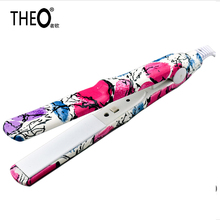 Mini Hair Straightener Iron Portable Travel Home Ceramic Flat Straightening Hair Styling Tools Brosse Lissante Ceramique HQT-710(China)