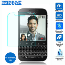 For Rim BlackBerry Classic Q20 Tempered Glass Screen Protector 2.5 9h Safety Protective Film on SQC100-3 SQC100-4 SQC100-5 4G