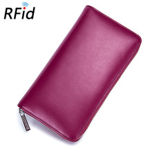 36 Card Holder Credit RFID Card Case Auto Car Document Women Passport Cover Case Wallet Female Bag Purse Porte Carte Cardholder(China)