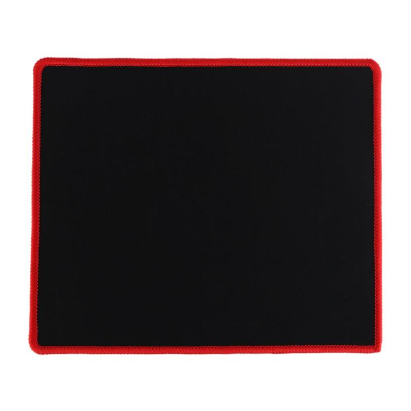 25x21cm Professional Gaming Mouse Pad Solid Color Locking Edge Mouse Mat Anti-slip Natural Rubber Gaming Mouse Mat for PC Laptop 8