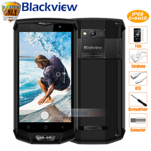 Blackview BV8000 Pro Mobile Phone FHD MTK6757V Octa Core Android 7.0 6GB RAM 64GB ROM 16MP Waterproof IP68 Type C 4G Smartphone