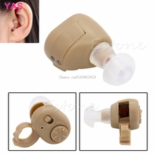 AXON K-86 Listening Mini Hearing Aid/Aids Ear Sound Amplifier Volume Adjustable #Y207E# Hot Sale