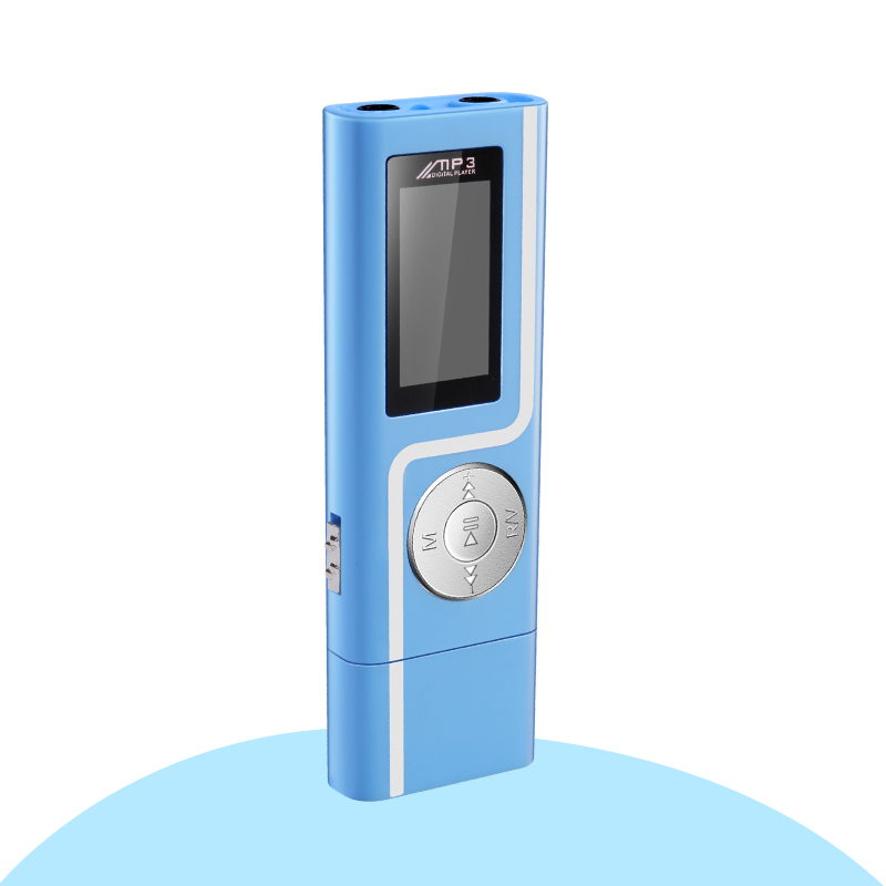 GERUIDA MP3 Player Faster Charge USB MP3 Mini Music Player Also U Disk 2G4G8G With FM Recording  OTG Lanyard  (7)