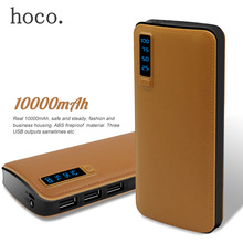 HOCO 10000mAh Powerbank External Battery Pack Portable Power Bank For iPhone 7 Plus 6 Plus 5S 5 5C SE Powerbank Mini Power Bank