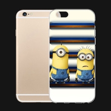Despicable Me Tim Mark Cartoon 6 Choices For iPhone 5 5s SE 6 6s 7 Plus Case TPU Phone Cases Cover Mobile Protection Decor Gift(China)