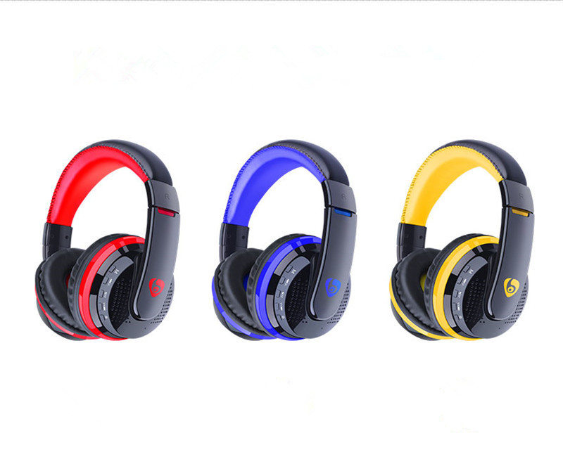 MX666 Wireless Stereo Bluetooth Headphone Headset Foldable FM/SD Card Headset For PC Laptop phone MP3 Player<br><br>Aliexpress