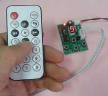 Stepper Motor Driver Controller Board Speed Adjustable with Remote Control(China)