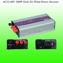 2017 Hot Selling 300W Three Phase AC22V~60V Input, AC 115V/230V Output Grid Tie Wind Power Inverter