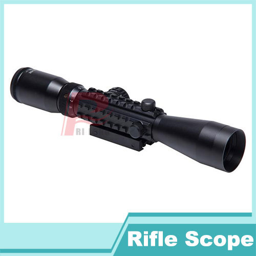 New Arrival Tactical 3-9x40E Rifle Scope Red and Green illuminated Tri-rail Mounts Weaver-Picatinny Rail Riflescopes  HT6-0016<br><br>Aliexpress