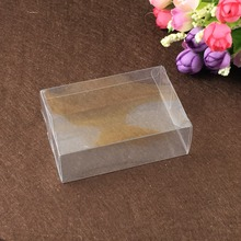 30pcs 5*6*11cm clear plastic pvc box packing boxes for gifts/chocolate/candy/cosmetic/crafts square transparent pvc Box