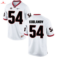 Nike 2017 Georgia Brandon Kublanow 54 Can Customized Any Name Any Logo Limited Ice Hockey Jersey 1 Mark Richt 27 CHUBB(China)
