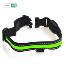 Pet Dog Collar Waterproof Luminous Glowing in The Dark LED Lighted Safety Collar Sale USB Charging Flashing Collars LED Light(China)