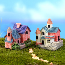 House Cottages Mini Craft Miniature Fairy Garden Home Decoration Houses Micro Landscaping Decor DIY Accessories