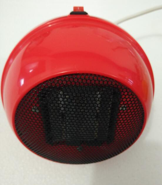 220V 500W Round shape Lovely Red mini fan heater PTC heating element<br>