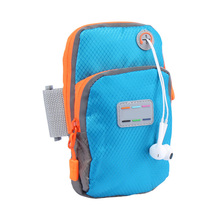New Running Jogging GYM Mobile Phone Bag Sports Wrist Bag Arm Bag Outdoor Waterproof Nylon Hand Bag For Fitness