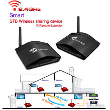 350m 2.4G Wireless AV Swtich RCA Audio Video Transmitter Receiver Sender IR Extended For DVD Satellite IPTV Android Cable TV
