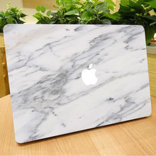 "Elegant Marble Grain Notebook Front Cover Skin for Macbook Decal Air Pro Retina 11"" 12"" 13 15 Mac Laptop Sticker Christmas Gift"